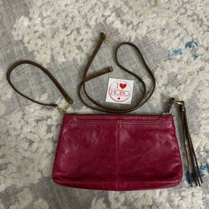 HOBO Convertible Leather Crossbody Wristlet